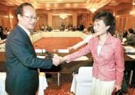 [아시아 - 유럽 프레스 포럼] 이부영 의장, 박근혜 대표 초청 토론