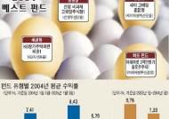 [중앙일보 펀드평가 2004 결산] '인덱스형' 활짝 웃었다