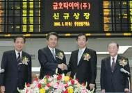 금호타이어, 한국·영국 동시 상장