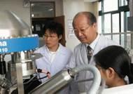 노벨화학상 수상자 미 맥디아미드 교수 전남대에 공동연구실