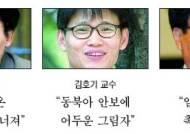 """진보 측 지식인들 """"평화 공존에 찬물"""""""