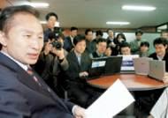 이명박·박근혜 '지지율 고민' 들여다보니