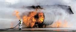 [사진] 진짜 화재 아닙니다