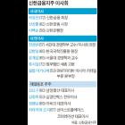 """""""신상훈 내보낸다"""" … '라응찬 카리스마' 이사회"""