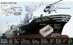 [한진<!HS>텐진<!HE>호] 한밤 해적 두 차례 총격 … 매뉴얼대로 엔진 끄고 피난처로