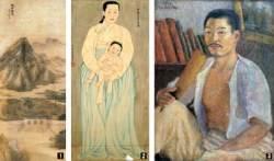 안중식·채용신·고희동 그림 문화재 된다