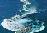 [사진] 센카쿠 첫 충돌 … 일본·대만 서로 물대포 공격