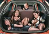 트렁크에 여자 3명이…민망한 '포드' 광고