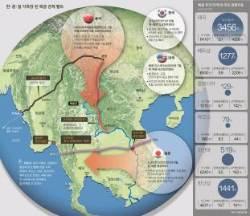 중국은 남북축 진출, 일본은 동서축 공략 … 메콩강 유역서 '십자 충돌'
