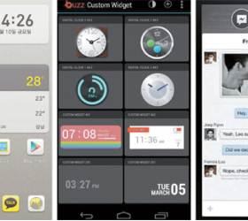 스마트폰 첫 화면을 잡아라 … 달아오른 '런처' 선점 경쟁