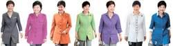 <!HS>박근혜<!HE> '컬러 정치' … <!HS>패션<!HE>으로 메시지 전달, 휴가지 편한 치마