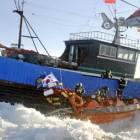 전쟁 같은 … 중국 어선 불법조업, 서해 단속 현장 가보니