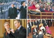 근위대 사열 후 왕실 마차로 … 버킹엄궁서 성대한 만찬