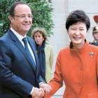 [사진] 엘리제궁서 한국·프랑스 정상회담