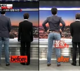 [<!HS>장성규의<!HE> <!HS>알몸<!HE><!HS>다이어트<!HE> ⑥] '엉덩이가 예뻐야 성규지'
