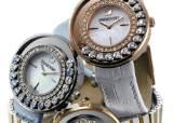 스와로브스키 '러블리 크리스털 시계', 16개 크리스털 … 새 출발의 시간을 밝힌다