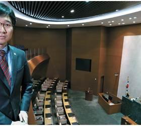 [사진] 초호화 성남시의회 안과 밖