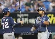 테임즈 22호포, 홈런 공동 3위-타점 1위 질주