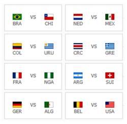 [<!HS>2014<!HE> <!HS>브라질<!HE>] <!HS>월드컵<!HE> 16강 확정팀, 남미&유럽 뿐…사라진 아시아