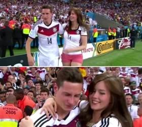 """[<!HS>2014<!HE> <!HS>브라질<!HE>] 드락슬러, <!HS>월드컵<!HE> 우승한 보람있네 """"여자친구가 달려와…"""""""