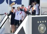 [사진] 2014브라질 월드컵 우승, 독일 대표팀 '금의환향'