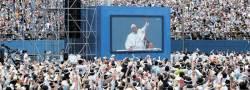 """[<!HS>교황<!HE> <!HS>방한<!HE>] """"남북분단에 말씀 좀"""" … """"한 형제, 한 언어 쓰는 게 희망"""""""