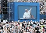 """[교황 방한] """"남북분단에 말씀 좀"""" … """"한 형제, 한 언어 쓰는 게 희망"""""""