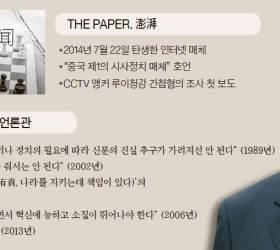 [<!HS>유상철<!HE>의 차이 나는 <!HS>차이나<!HE>] 시진핑 언론 새판짜기 … 호랑이 잡는 '펑파이' 띄운다