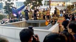 [속보] 성남 판교 야외공연장 인근 환풍구 붕괴…사망 16명