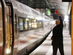 [사진] '노동자 처우 개선해달라' 독일<!HS>철도<!HE> 노조 <!HS>파업<!HE>
