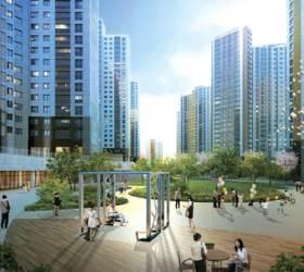 텃밭·공원 꾸며 사계절 녹색 첨단 시설 갖춰 에너지 절약