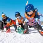 클럽파티·스키교실·썰매·설피 … 세대별 맞춤 놀거리 많아