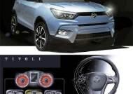 6가지 색깔 계기판 … 쌍용차 소형 SUV '티볼리' 나온다