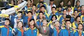 아시아나항공, 중국 21개 지역 학교에 학습기자재 지원