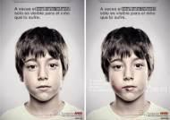 135cm 이하 '어린이 눈에만' 보이는 광고판…'렌티큘러' 기법 사용?