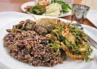 [오늘 점심 뭐 먹지?]  채식식당 - 배부르게 먹는 가벼운 식단
