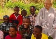지구촌 공생회 월주 스님, 케냐 오지에 학교 기증