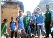 네팔 대지진 참사 현장서 구호 활동 … 3만 달러 긴급 지원