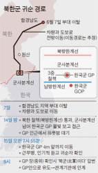 북한 병사, GP 앞에서 '1박 귀순'