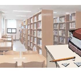 [대학생칼럼] 메르스처럼 '도서관 바이러스'도 사라져야