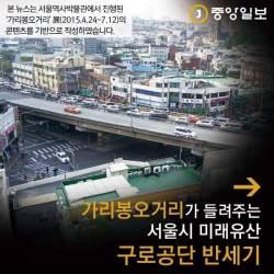 [멀티뉴스] 가리봉오거리가 들려주는 <!HS>서울<!HE>시 <!HS>미래유산<!HE> '구로공단' 반세기