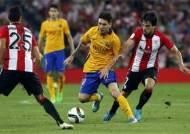 바르셀로나, 슈퍼컵 1차전서 빌바오에 0-4 충격적 대패