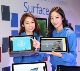 [산업] 한국<!HS>마이크로소프트<!HE>, '서피스4' 국내 출시