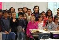 """영어연극 1등 고성 흘리분교 미국 초등학교서 """"펜팔하자"""""""