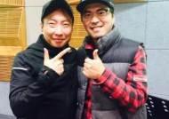 """박명수, 에로영화 봉만대 감독과 친분샷 """"기대해줘요"""""""
