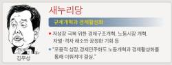 """김무성 """"<!HS>경제활성화<!HE>"""" 김종인 """"포용 성장"""" 안철수 """"공정 성장"""""""