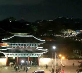[<!HS>12초<!HE> <!HS>영상<!HE>] 창경궁 야간 개장 시작…궁궐 봄 나들이, 어때요?