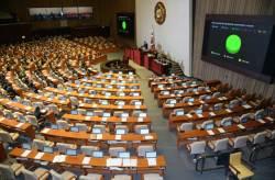 북한인권법, 선거법 본회의 처리
