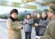 """북한 김정은, 신형 대구경 방사포 사격 현지 지도…""""바늘귀 꿰듯 대단히 정확"""" 만족"""