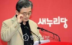 """이한구, 유승민에 """"우리 당 모욕하고 침 뱉으며 자기정치하러 떠나""""…이재만 공천"""